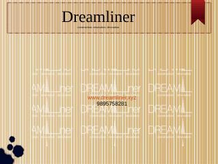 Dreamliner the interior designing company