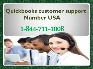 Quickbooks technical Support Phone Numbe 1-844-711-1008