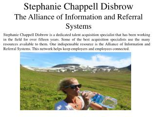Stephanie Chappell Disbrow The Alliance of Information and Referral Systems