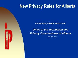 New Privacy Rules for Alberta