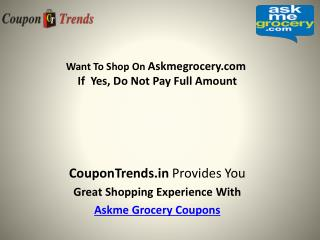 Askme Grocery Coupons