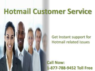 Hotmail customer service number  {[1^877^788^9452]} tollfree USA & Canada