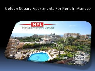 Luxury Apartments In Monaco For Sale