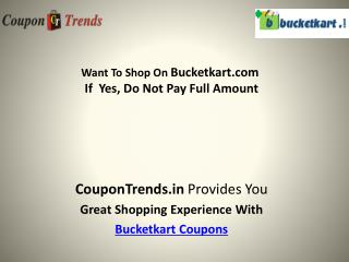 bucket kart coupons