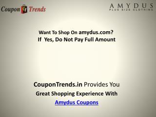 Amydus Coupons