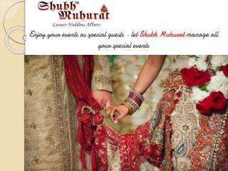 Professional Marriage Planner in Delhi