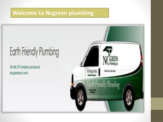 Welcome to ncgreen plumbing