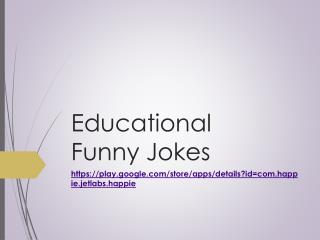 Educational Funny Jokes