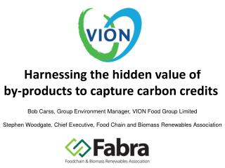 Harnessing the hidden value of  by-products to capture carbon credits