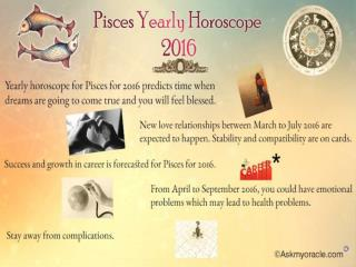 Pisces Horoscope 2016 | Free Yearly Love and Career Horoscope