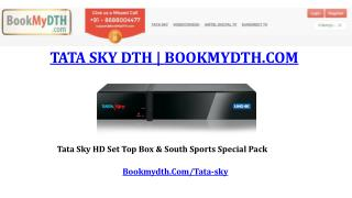 Tata Sky | TataSky Packages | Tata Sky New Dth Connection