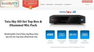 Tata Sky HD Set Top Box & Dhammal Mix Pack | Tatasky Packages