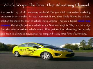 Vehicle Wraps Company Northern Virginia