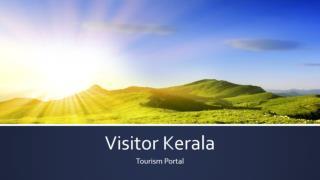 Visitor kerala | Tourism Portal