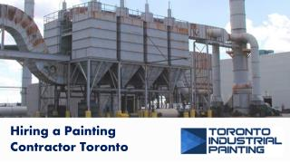Hiring a Painting Contractor Toronto