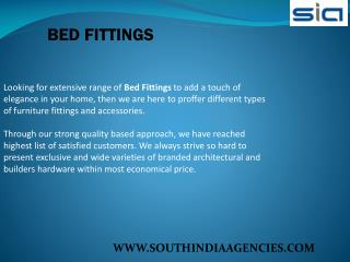 Bed Fittings
