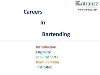 Careers In Bartending