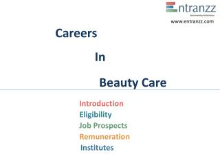 Careers In Beauty Care