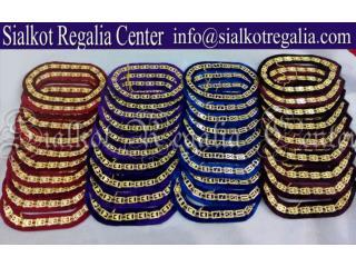 Blue Lodge Masonic chain collar Silver