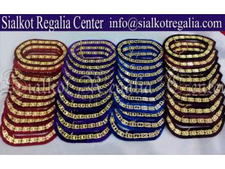 Regalia Masonic chain collar silver