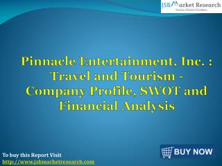 Financial Analysis of Pinnacle Entertainment: JSBMarketResearch