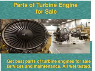 Best Information on Parts of Turbine Engine for Sale  in Prattville AL