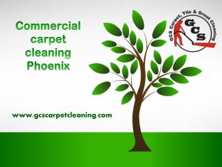 Commercial carpet cleaning phoenix