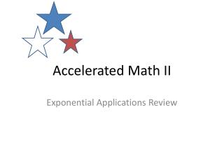 Accelerated Math II