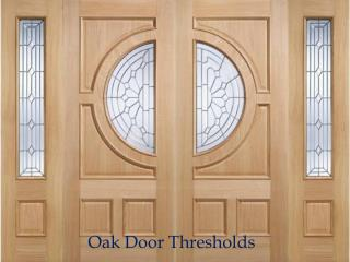 Hand Finished Oak Door Thresholds