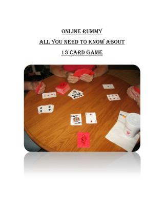 Indian Rummy Card Game – Here is All You Need to Know