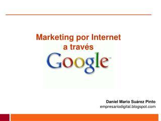Marketing por Internet  a través