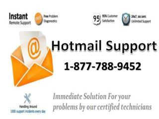 Hotmail support number 1:877:788:9452 tollfree for tech support