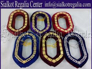 Royal Arch Masonic chain collar Gold