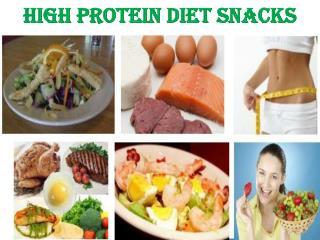 High Protein Diet Snacks