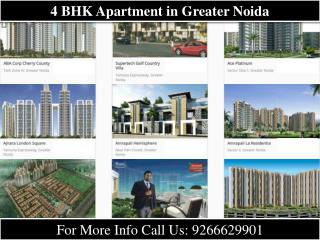 4 BHK Apartment in Greater Noida