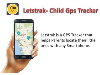Letstrak- Child Gps Tracker