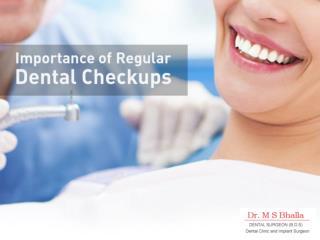 Importance of Regular Dental Checkups