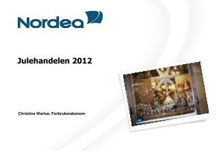 Julehandelen 2012