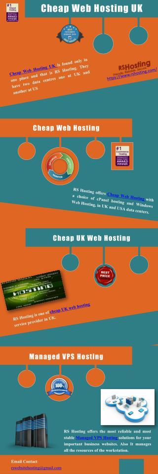 Cheap Web Hosting UK - RS Hosting