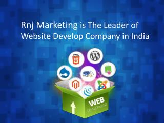 Rnj Marketing is The Leader of Website Develop Company in India