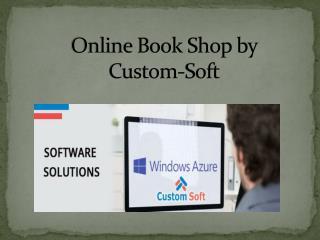 Custom Soft Application development for Book Shop