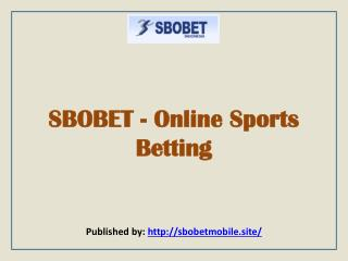 SBOBET-Online Sports Betting