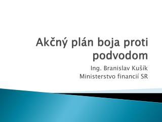 Akčný plán boja proti podvodom