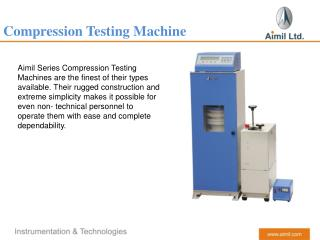 Compression Testing Machine (Aimil)