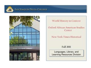 World History in Context Oxford African American Studies Center New York Times Historical