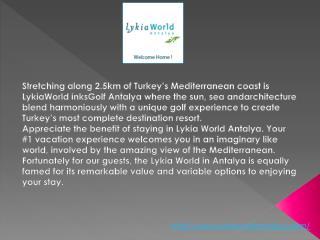 turkey antalya 5 star hotels