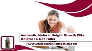 Authentic Natural Height Growth Pills Helpful To Get Taller