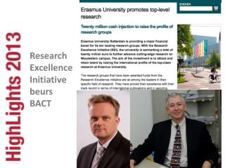 Research  Excellence  Initiative beurs  BACT