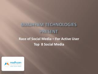 Race of Social Media � For Active User