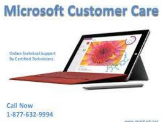 Dial 1-877-632-9994 Microsoft Technical Support Phone Number